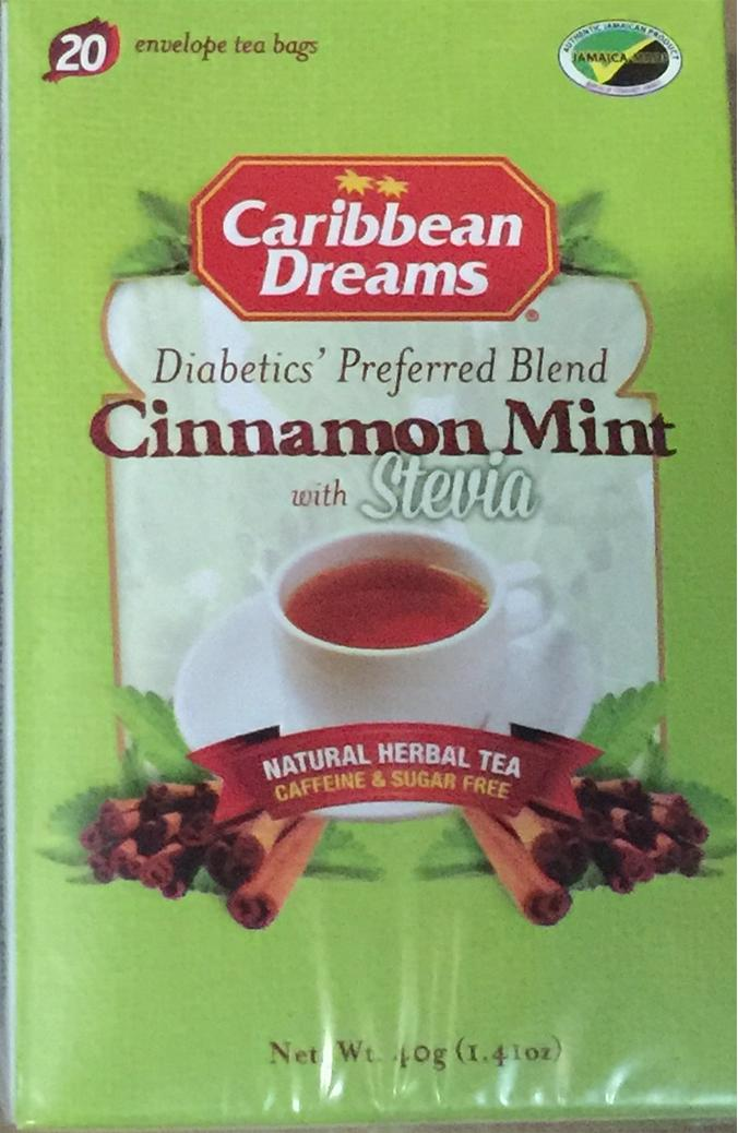 Caribbean Dreams Cinnamon Mint Tea Image