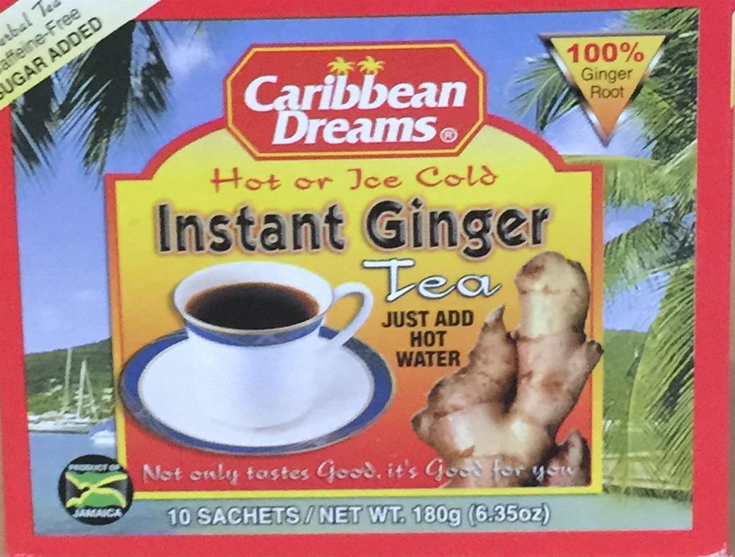 Caribbean Dreams Instant Ginger Tea Image