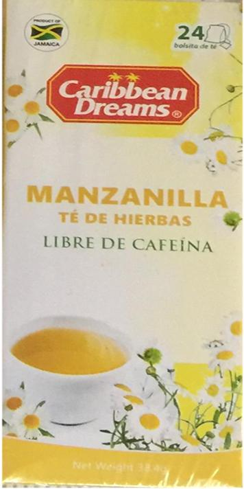 Caribbean Dreams Manzanilla Herbal Teas Image