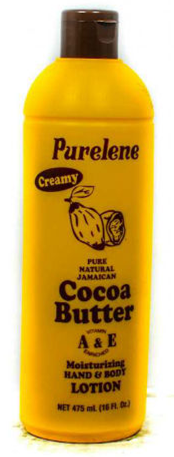 Purlene Cocoa Butter Bottle Image