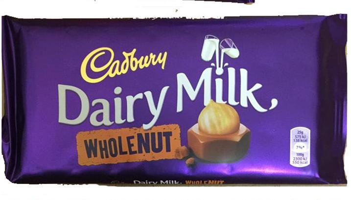 Cadbury Wholenut Image
