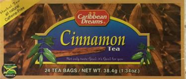 Caribbean Dreams Cinnamon Tea Image