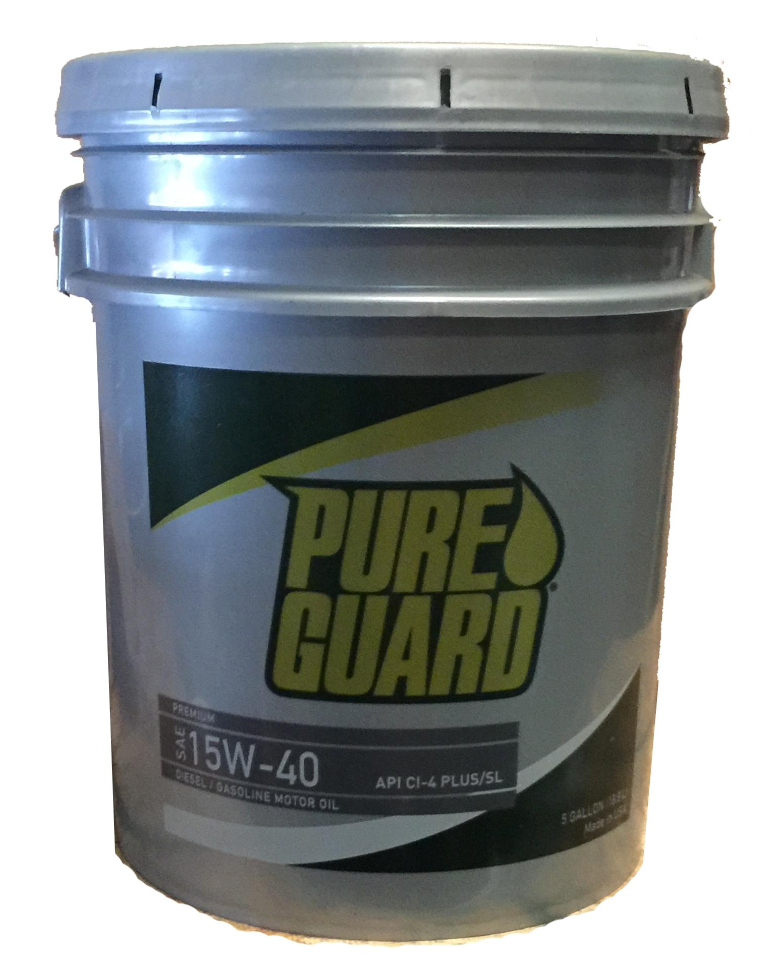 Pure Guard 15W-40 Image